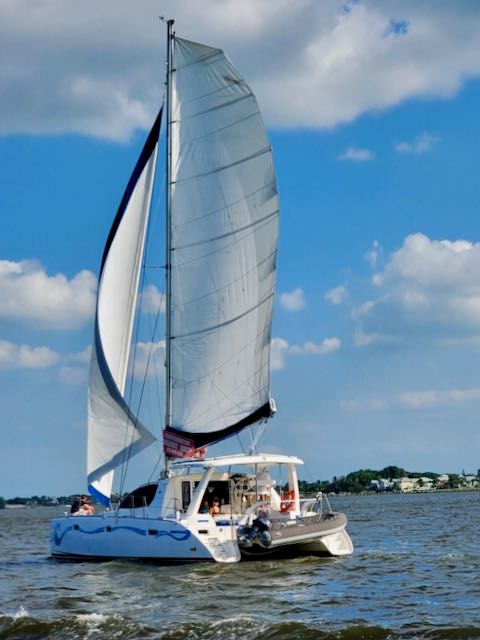 Fearful guests learn to love sailing with us